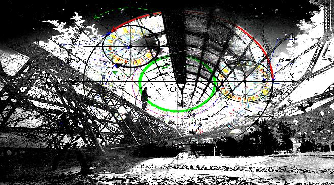 Digital Landscape Cityscape, Moon City