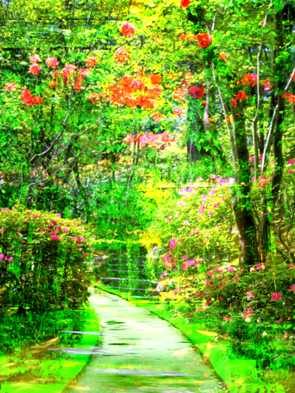 Impressionism Wild Flowers