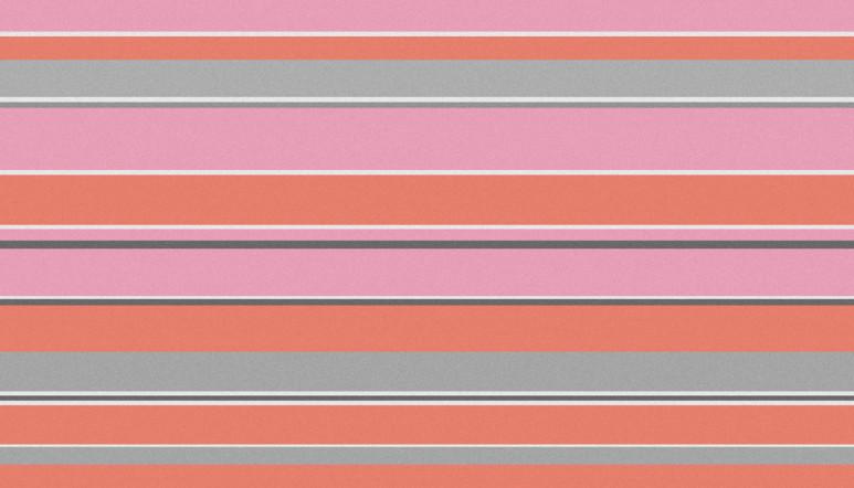 Interior Design Pink Stripe Abstract