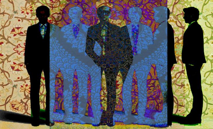 Pattern Portrait Collage