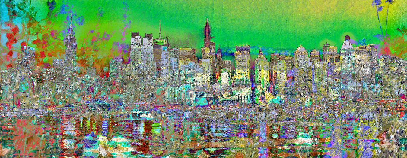 Landscape Impressionism City