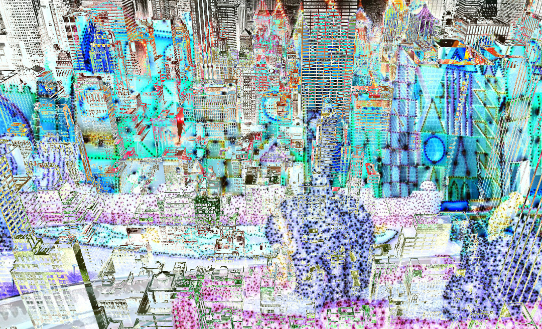 Art Print Blue Landscapes
