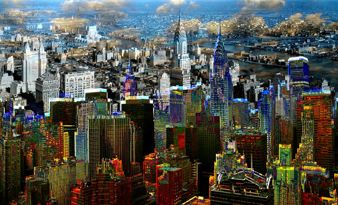 Art Print, Manhattan