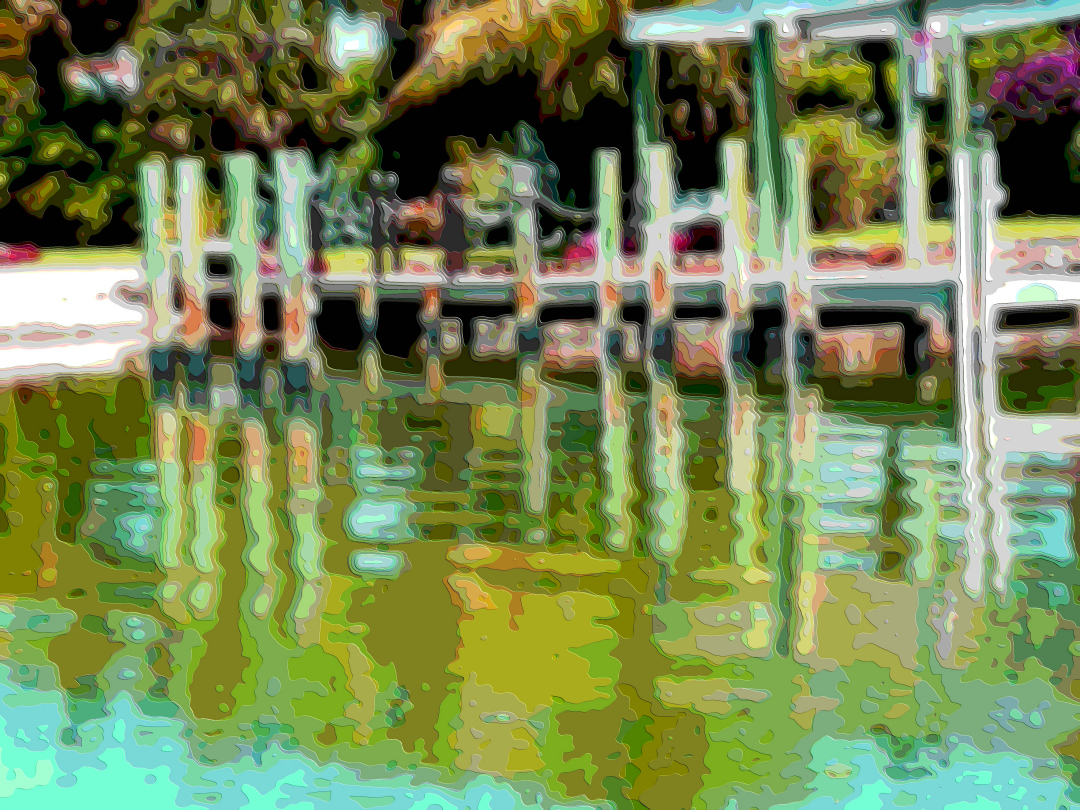 Art Print Water and Dock