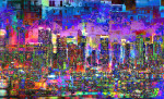 City Art Cityscape Dark City