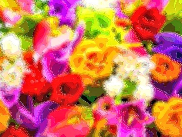 Flower Art Sale Flowers