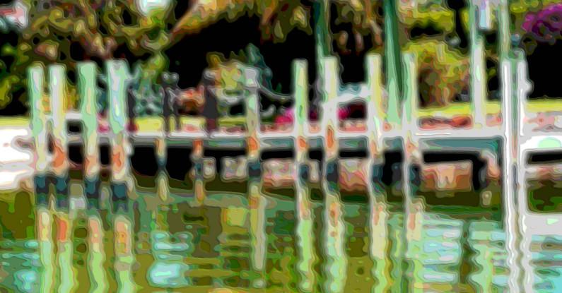 Water Dock Art Print