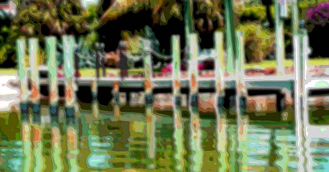 Art Print, Water and Dock
