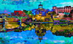 Hamilton Ohio Art Prints
