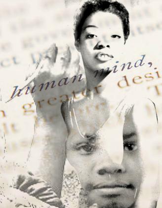 Poet Maya Angelou Art