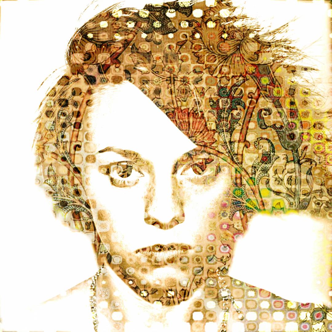 Elly Jackson Art Portrait