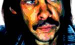 Nick Cave Portrait Art