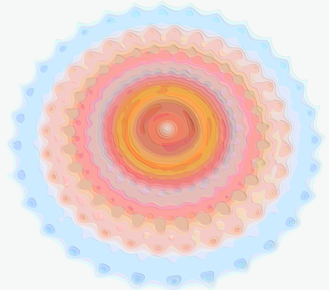 Colors Layers Spirograph