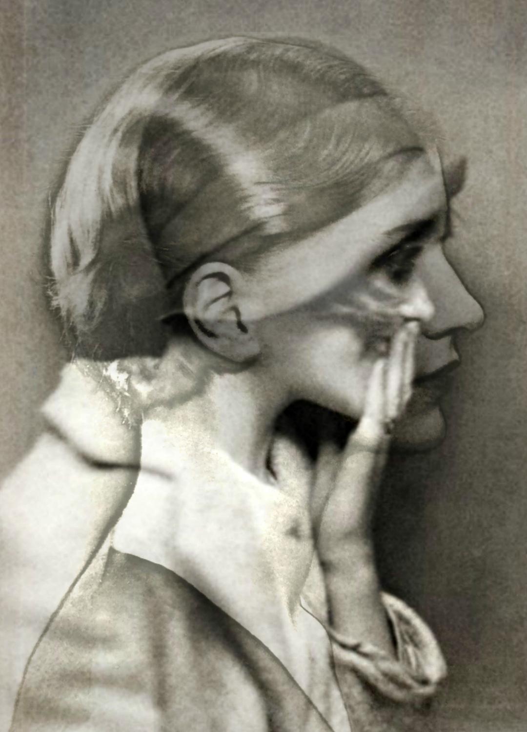 Vintage Portrait Art