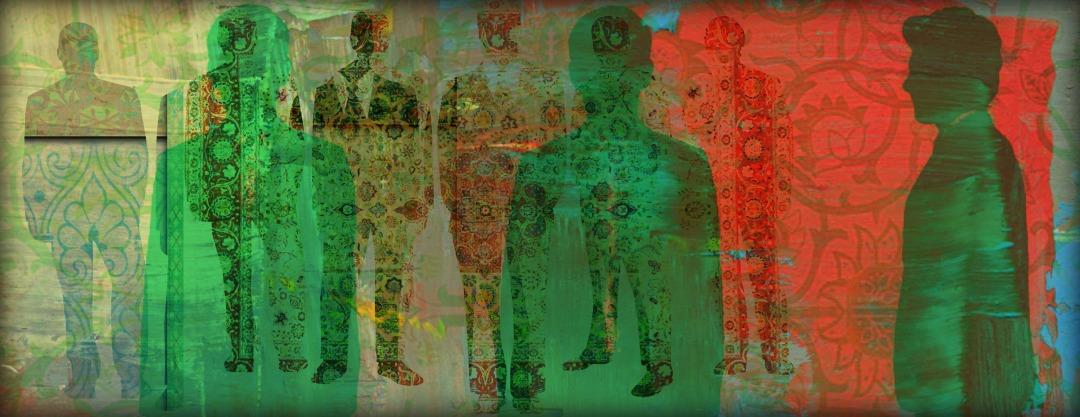 Pattern Collage Art