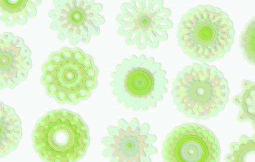 Spirograph Art Artwork