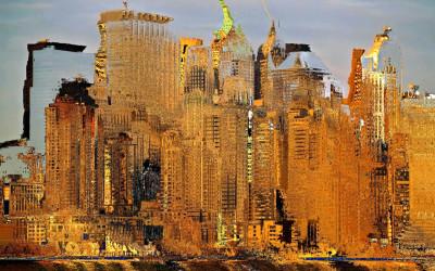 Digital Impressionism, City Art
