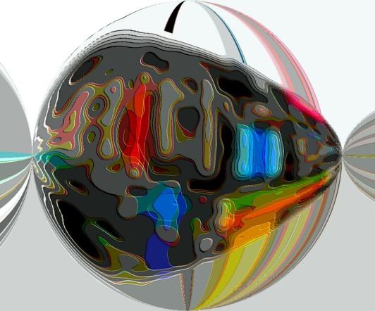 New Abstract Motherboard Circle